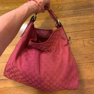 Gucci Monogram Hobo